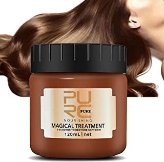 Hair Conditioner PURC Magical Hair Treatment Mask, Advanced Molecular Hair Roots Treatment Professtional Hair Conditioner, 5 Seconds to Restore Soft, Deep Conditioner Suitable for Dry & Damaged Hair