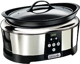 Crock-Pot SCCPBPP605-050 Olla de cocción Lenta Digital de 5,7L SCCPBPP605, 230 W, 5.7 litros, Acero Inoxidable