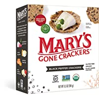 Deals on Marys Gone Crackers Black Pepper Crackers 6.5 Ounce