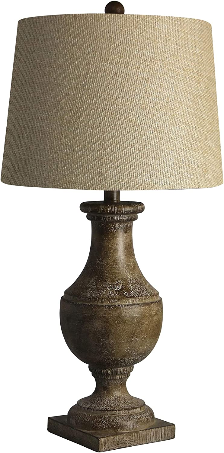 Cory Martin W-6265COF Table Lamp, 28, Cottage Coffee