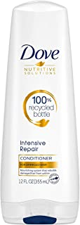 Dove Nutritive Solutions Strengthening Conditioner for Damaged Hair Intensive Repair Deep Conditioner Formula with Keratin Actives 12 oz