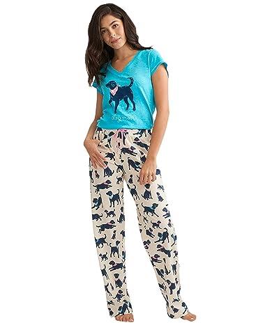 Little Blue House by Hatley Bandana Labs Jersey Pajama Pants