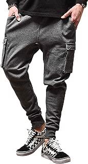 ルービック(RUBIK) ジョガーパンツ メンズ スウェットパンツ カーゴパンツ スキニーパンツ テーパード 無地