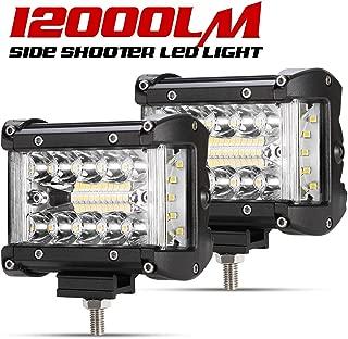 Side Shooter LED Pods - 2Pcs 4
