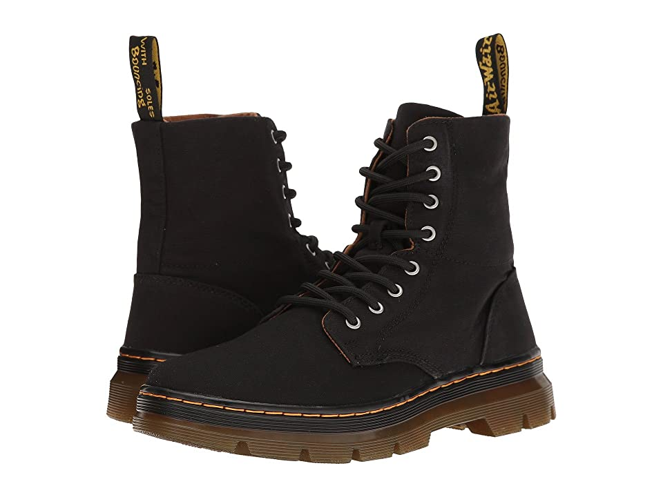 Dr. Martens Combs (Black Canvas) Boots
