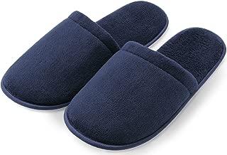Pembrook Men's Slippers with Memory Foam – Soft Polar Fleece – House Slippers for Adults, Men, Boys