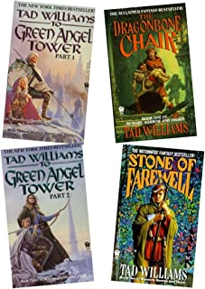 Tad Williams - Complete Set of Memory, Sorrow, and Thorn, Four Books (Memory, Sorrow and Thorn, Volume 1, 2, and 3 (Volume 3, To Green Angel Tower, in two books))