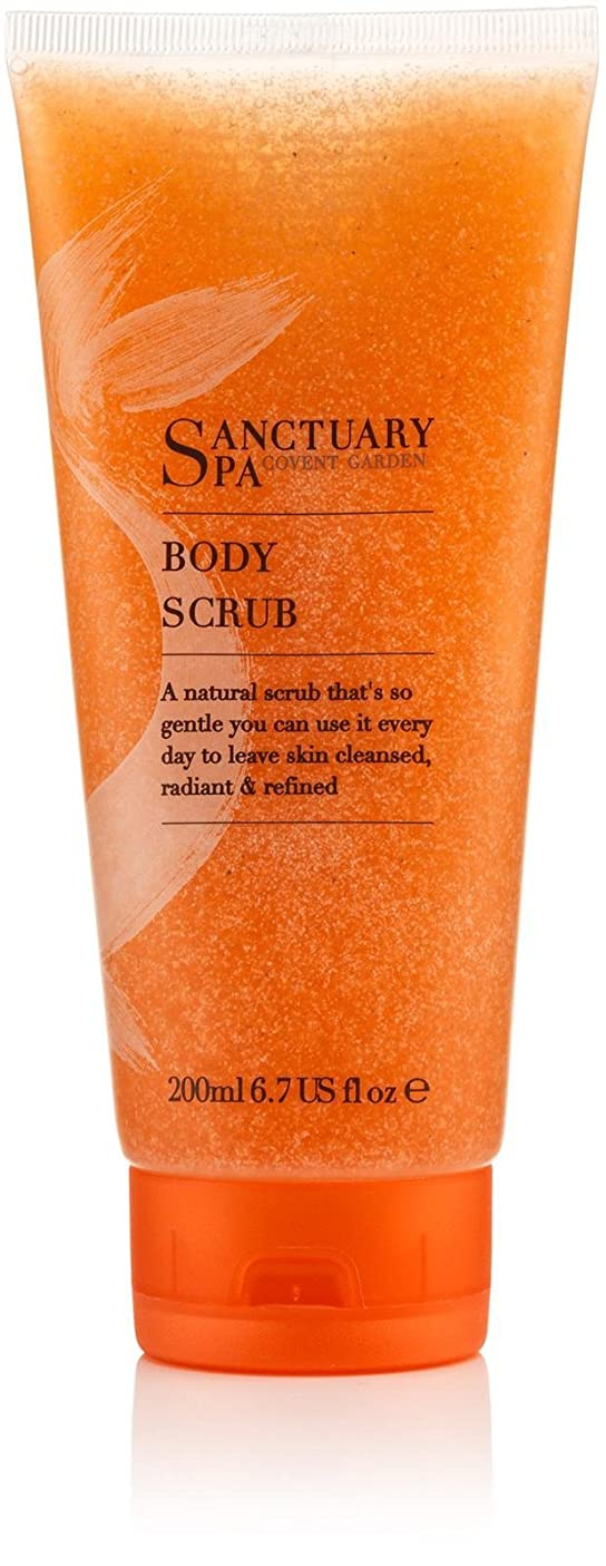 かご考え娯楽Spa Essentials by Sanctuary Spa Body Scrub 200ml by Sanctuary Spa