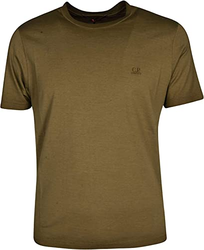 CP COMPANY Homme 06CMTS190A000444S672 Vert Coton T-Shirt