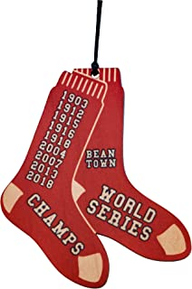 Kitchenniche Red Sox World Series 2018 Wood Christmas Ornament