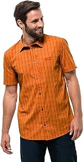 Jack Wolfskin Men's Rays Stretch Vent Men's Plaid Travel Shirt W/Uv