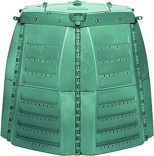 Exaco 600531 Thermo-Star Composter, 1000-Liter/267-Gallon, Green
