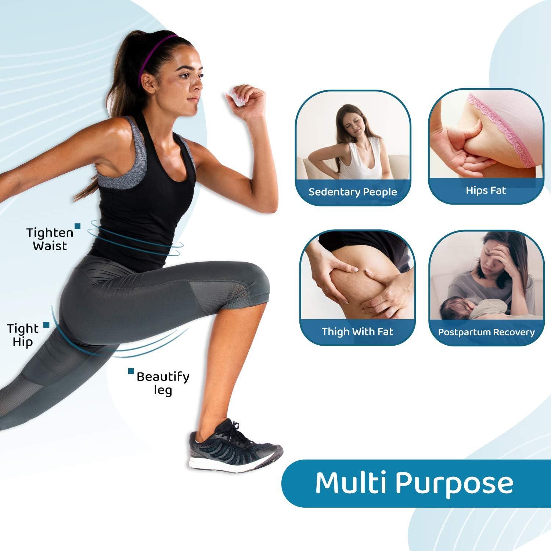LIT FITNESS Hip Trainer Exerciser Inner Thigh Exerciser Pelvic Floor Exerciser for Buttocks Lifter Postpartum Rehabilitation Small Yoga Ball Bladder Controller