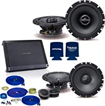 """$369 » Sponsored Ad - CreativeAudio Speaker Package - Alpine 1-Pair SPS-610C 6.5"""" Component and SPS-610 6.5"""" Coax with BBX-F1200 Amp"""