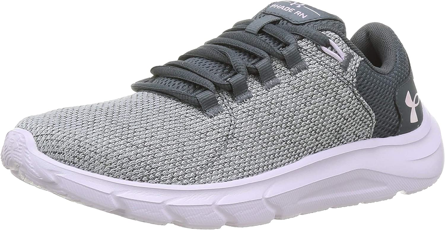 Under Ranking TOP3 Armour Women's Phade RN Direct stock discount Road Shoe Crys Pitch Gray Running