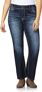 WallFlower Plus Size Luscious Curvy Bootcut Jeans