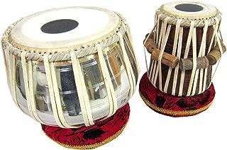 Metal Bayan & Dayan Tabla Set Percussion Musical Instrument with Carry Bag & Cushion/tabla set,tabla trommel,tabla bayan,tabla drums,tabla musik instrument,tabla drum set,indian tabla set