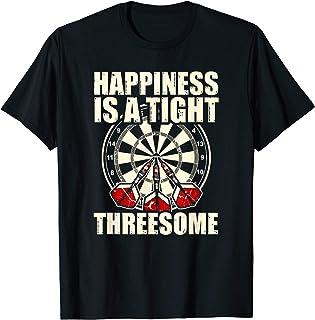 Dart 180 Hommes T-Shirt-Fléchettes Cible à fléchettes fléchettes Dartboard tee shirt