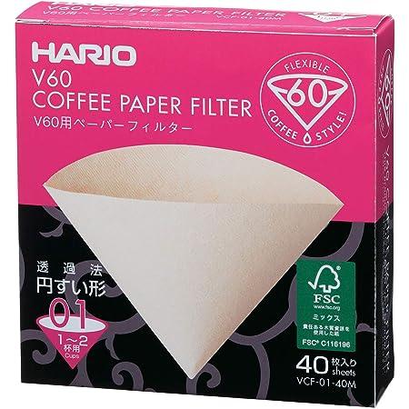 HARIO (ハリオ) V60用ペーパーフィルターみさらし 1~2杯用