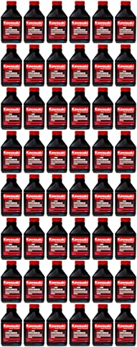high quality Kawasaki outlet online sale 48PK Engine outlet sale Motor Oil 5.2 oz Bottles 2 Cycle Mix Trimmers 2 Gallon sale