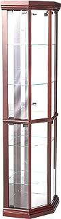 ACME 02347 Martha Corner Cabinet, Cherry Finish