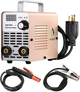 HITBOX ARC Welder 200A Stick DC 220V Inverter Welding Machine MMA200 ZX7 Rod Stick Portable Welder
