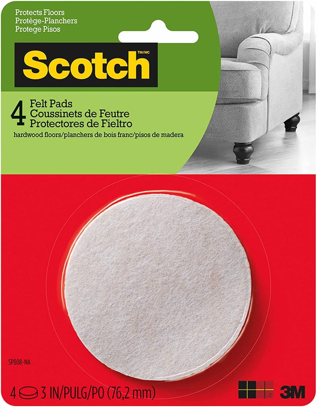 Scotch Felt Pads Credence Furniture Hardwood for Protecting Fl wholesale