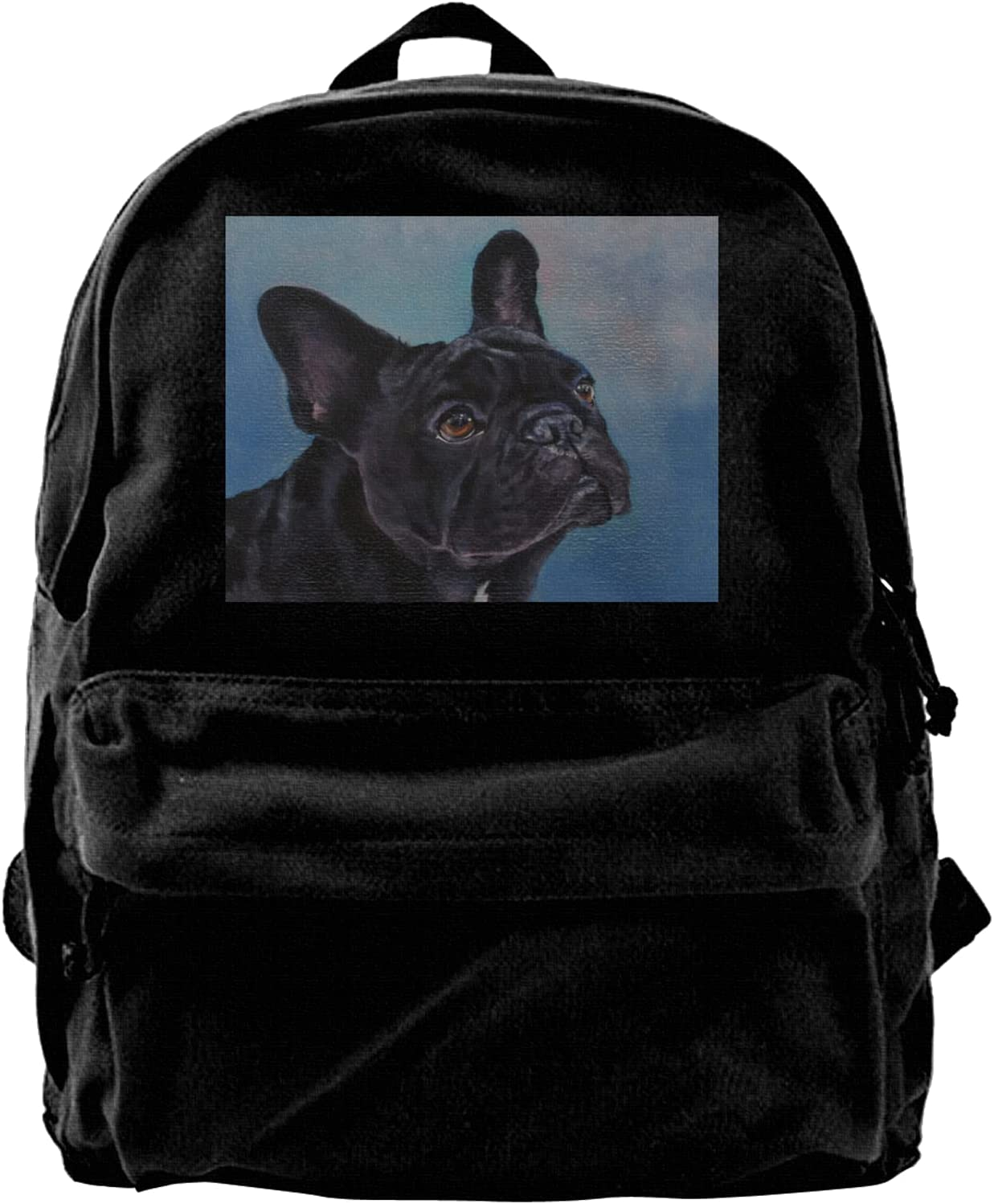 Bulldogge Dog Backpack For Outlet ☆ Free Shipping free Women Travel Laptop Men