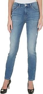 LEE 女式现代系列中腰修身牛仔裤
