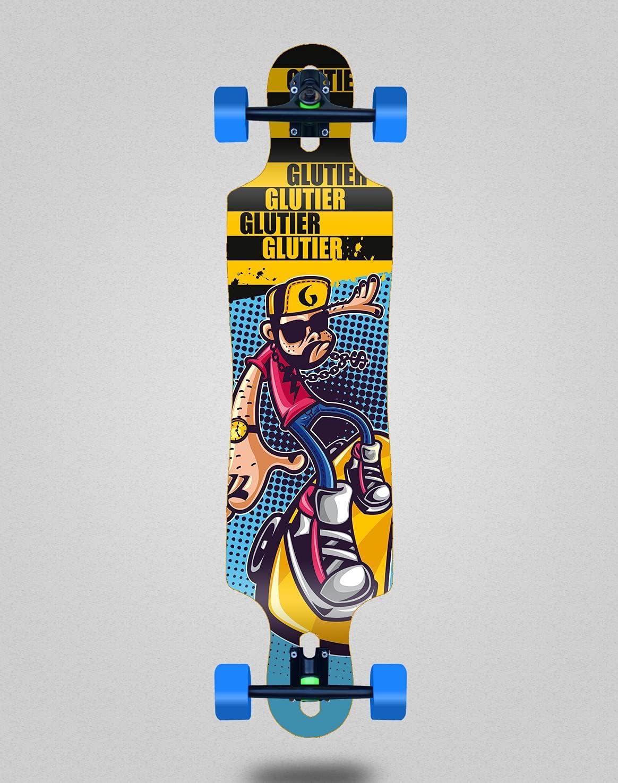 Glutier Skate Skateboard Translated Longboard Complete Drop Discount mail order Drugs John 40x9