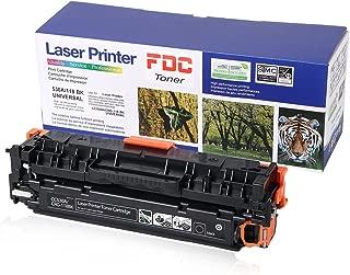 FDC Toner 304A CC530A CRG-118 Toner Compatible for HP Color Laserjet Cp2025dn Cp2025n CP2025x CP2025 Cm2320fxi Cm2320n CM2320nf, Canon ImageCLASS MF726Cdw LBP7660Cdn Toner cartrides … (Black)