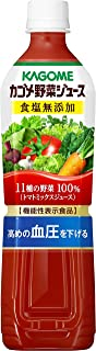 カゴメ 野菜ジュース食塩無添加 スマートPET 720ml×15本[機能性表示食品]