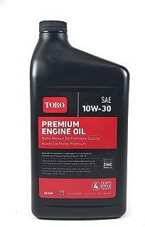 Toro 38280 SAE 10W30 4-Cycle Engine Oil - 32 OZ Bottle