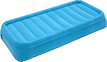 AirCloud CAB-020 Magestic 14-Inch High Inflatable Blue Air Bed with AC Motor Pump, Twin