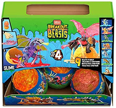 Mega Breakout Beast Buildable Beast Collectible Series 4 Construx (GFV05)