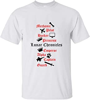 Lunar Chronicle characters 34 T shirt Hoodie for Men Women Unisex