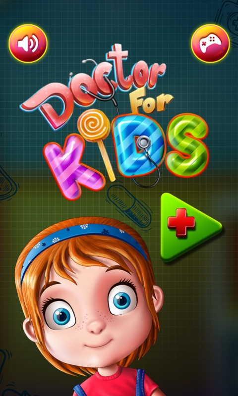 Doctor for Kids : pretend to be the best doctor ! educational pretend play Kids Game - FREE