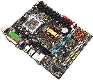 Findema | Placa Base para computadora de Escritorio con Soporte de Condensador sólido 771CPU y 775CPU Kit de Memoria de Escritorio de Alto Rendimiento con Placa Base DDR3 Dual, Negro