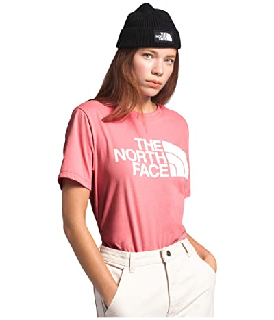 The North Face Half Dome Cotton Short Sleeve Tee (Mauveglow) Women