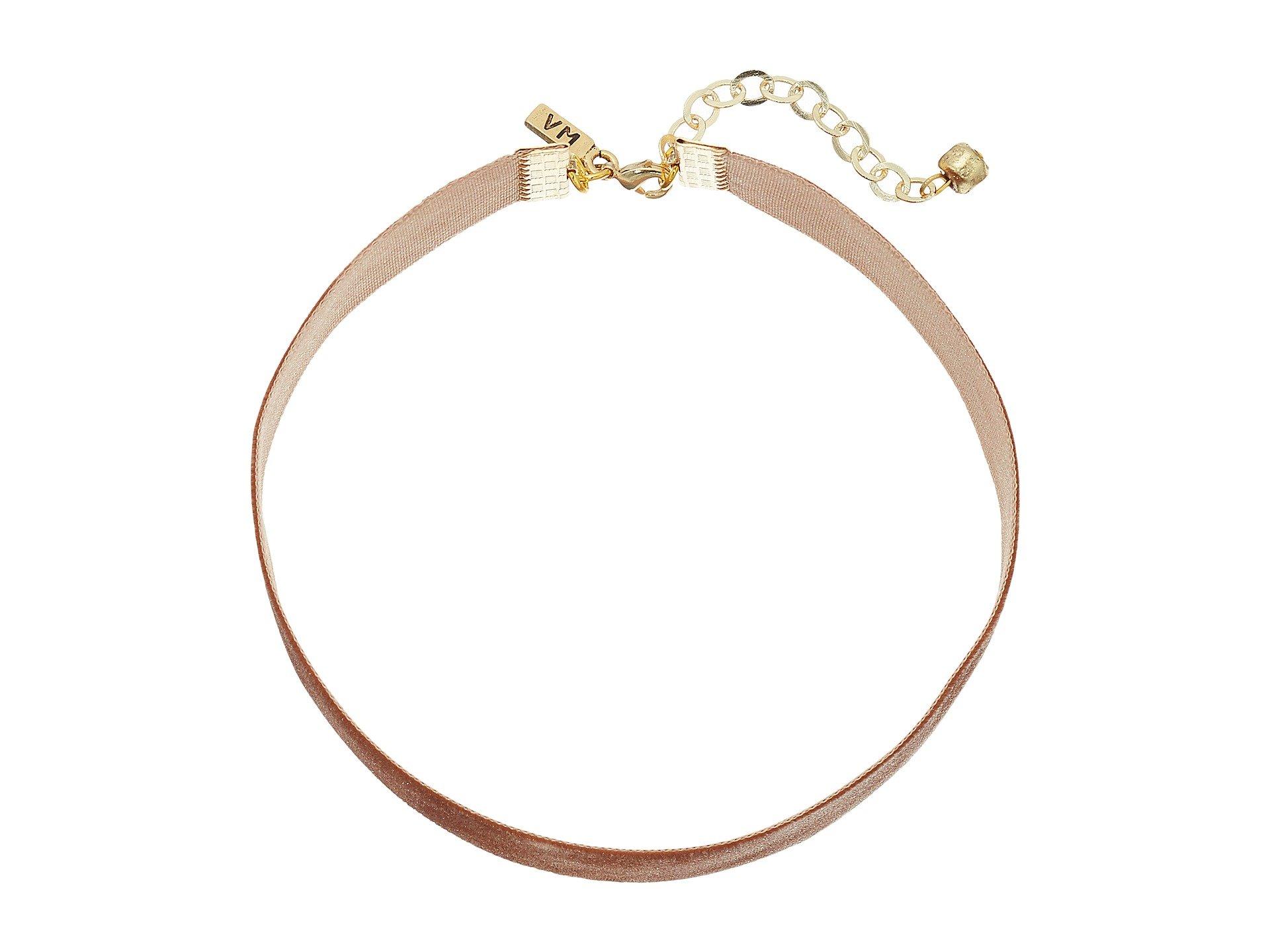 """1/2"""" Velvet Choker Necklace"""