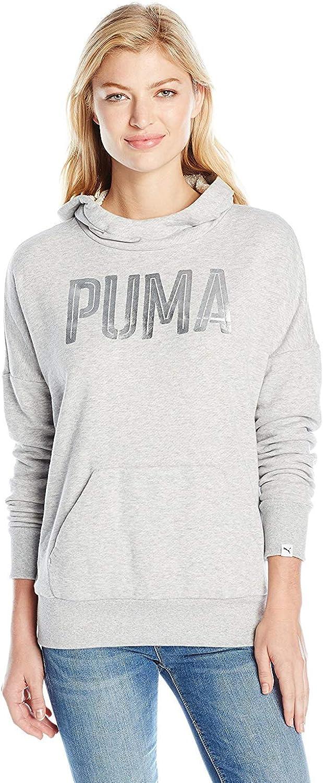 PUMA Women's Style Foil Sale item Hoodie Max 65% OFF