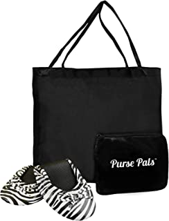 Solemates Purse Pals Foldable Travel Ballet Flats for Women with Compact Carrying Tote Bag | Proudly Designed, Packaged and Sold in The U.S.A