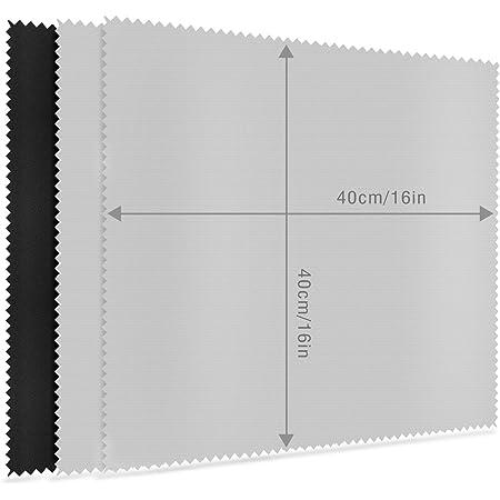 MOSSLIAN 16インチ キーボードカバークロス 大判サイズ クリーナークロス 液晶画面用マイクロファイバークロス(40x40cm 3枚セット)