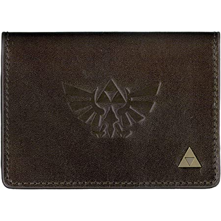 三英貿易 FAVORITE+ Leather Goods 本革名刺入れ(ゼルダの伝説) 革小物 高さ8cm