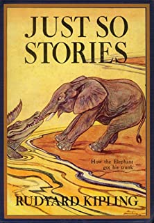 ArtParisienne How The Elephant Got His Trunk Just So Stories Rudyard Kipling 12x18 Poster Semi-Gloss Heavy Stock Paper Print
