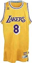 adidas Kobe Bryant Los Angeles Lakers Gold Throwback Swingman Jersey