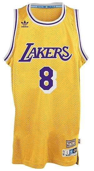 adidas Kobe Bryant Los Angeles Lakers Gold Throwback Swingman ...