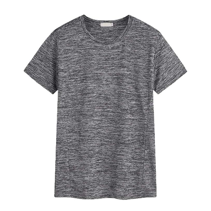 列車アボート可能にするメンズ シャツ Rexzo メンズ 大きいサイズ 吸汗速乾 スポーツシャツ 機能性 運動用 Tシャツ 柔らかい 通気性 カジュアル トップス 着心地 上質 スウェットシャツ 運動 遠足 ジョギング 登山