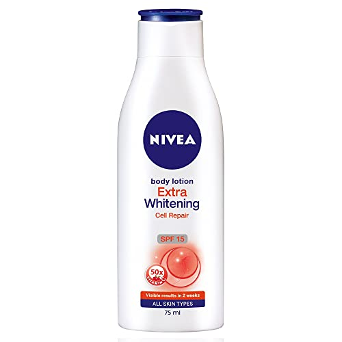 Nivea Extra Whitening Cell Repair Body Lotion SPF 15, 75ml