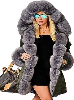 4d5a85495a21 Amazon.com  Multi - Fur   Faux Fur   Coats